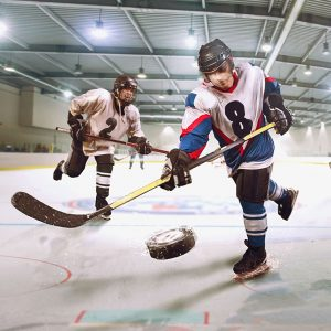 Sports-Complex-with-Hockey-Players-
