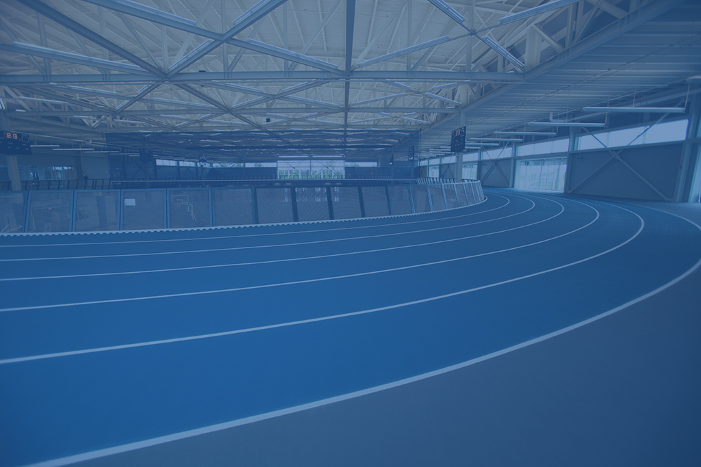 Track Inside a Recreation Center