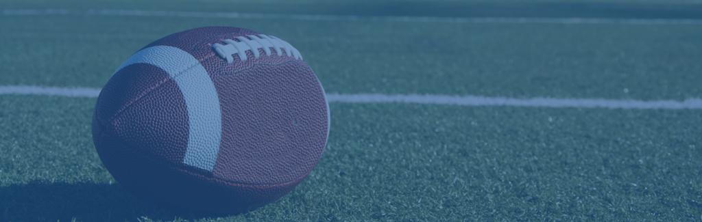 Football on a sports complex field