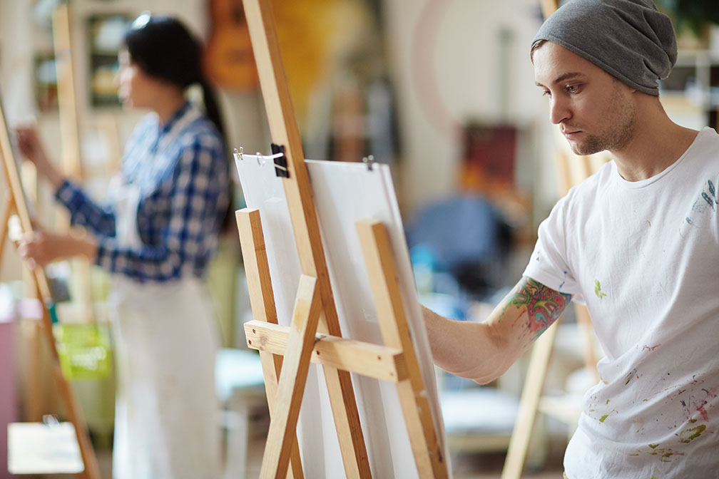 Art Classes at Recreation Centers