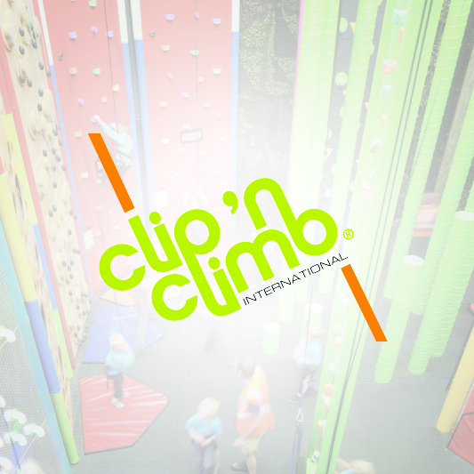 Clip n Climb Climbing Recreation Center Logo