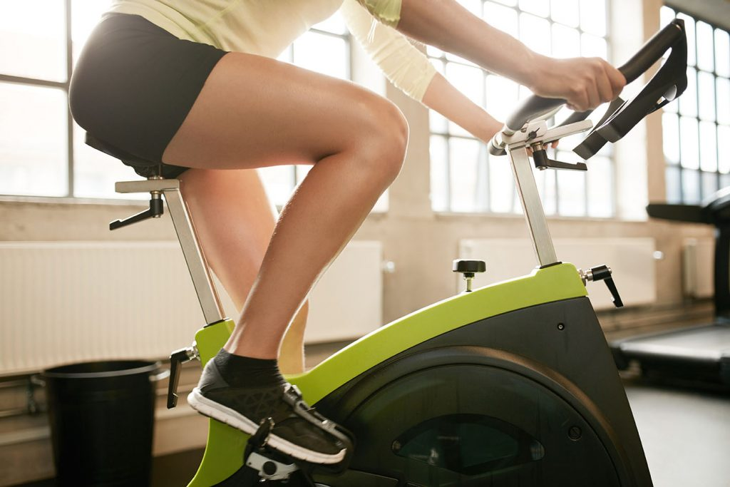 Woman Tries to Power Her Recreation Center with an Exercise Bike