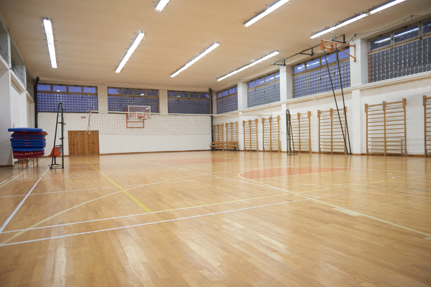 Alternate uses for a sports complex gym