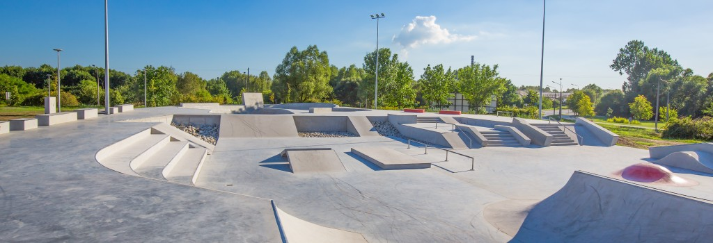 Skate park at a recreation center client of Sports Facilities Advisory