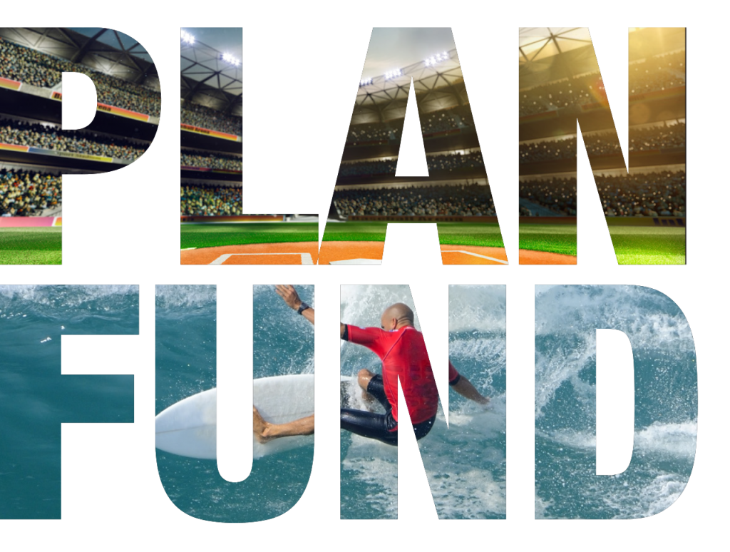 Plan fund header for Sports Facilities Advisory development funding