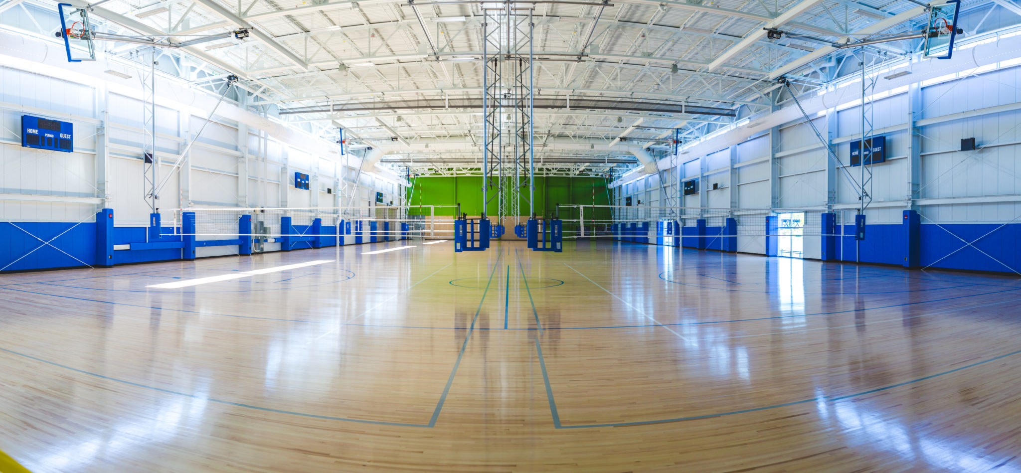 Indoor view of Sports Factory, a Sports Advisory Facilities client