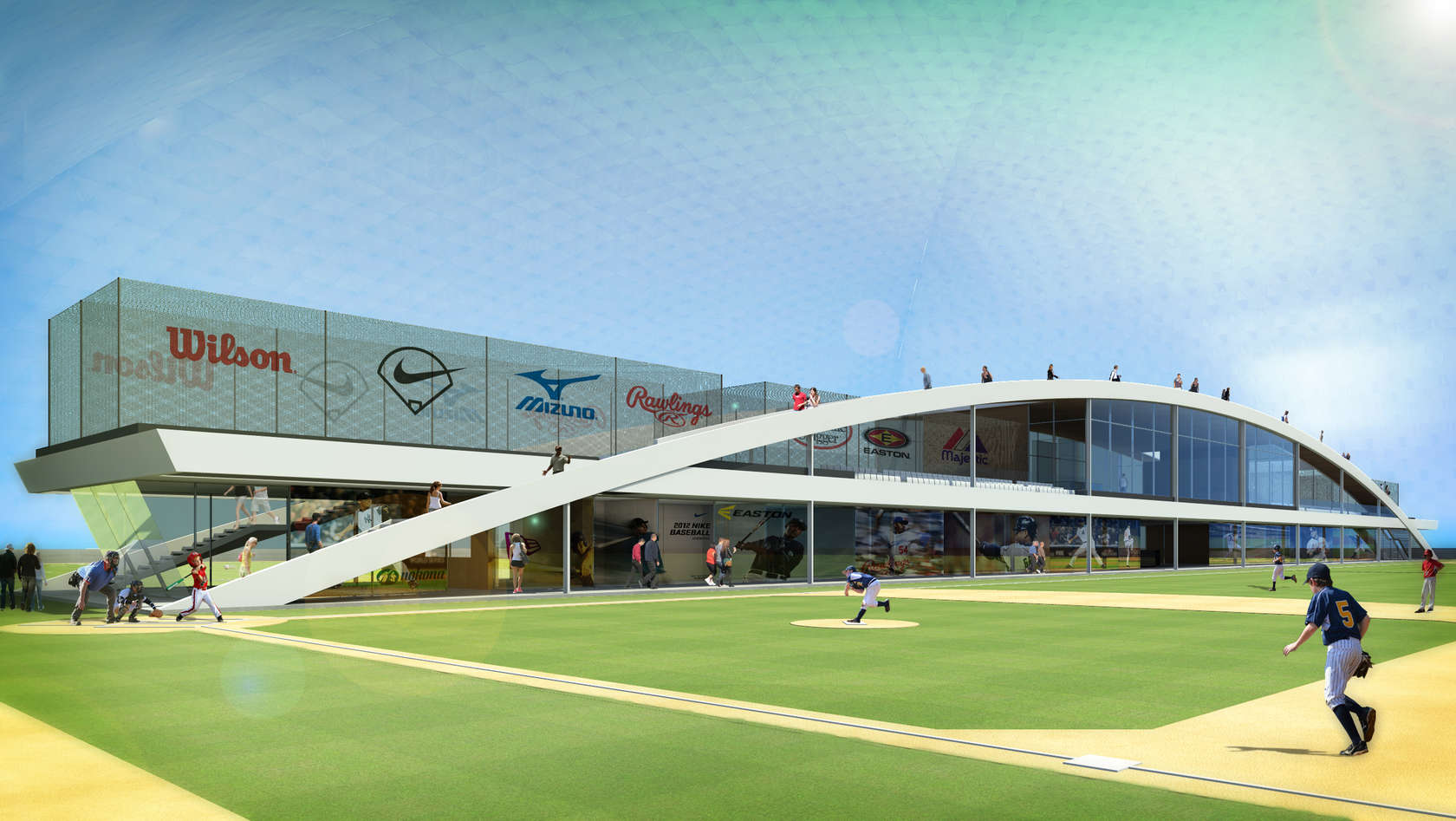 Sports Facilities Advisory Client Kingdome, ground view