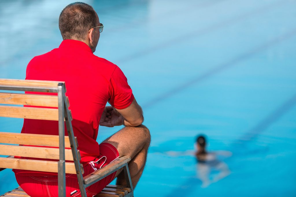 Recreation Center Pool Staff