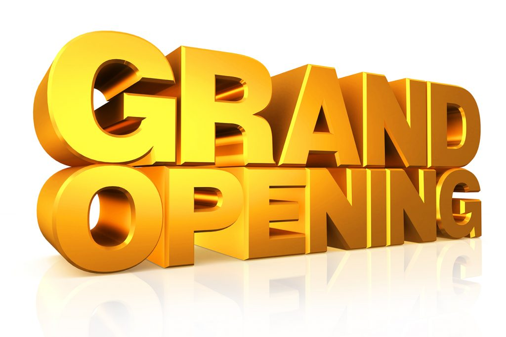 hosting a grand opening sports facilities management