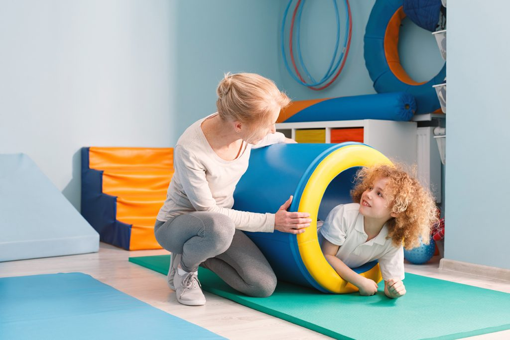 Kid at child care developed through facility planning