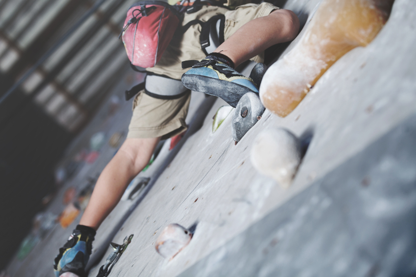 Sports complex and climbing wall safety