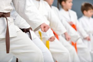 Recreation centers and martial arts for kids