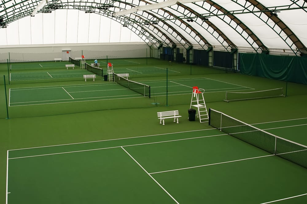 Tennis Courts Are Popular in Indoor Sports Facilities
