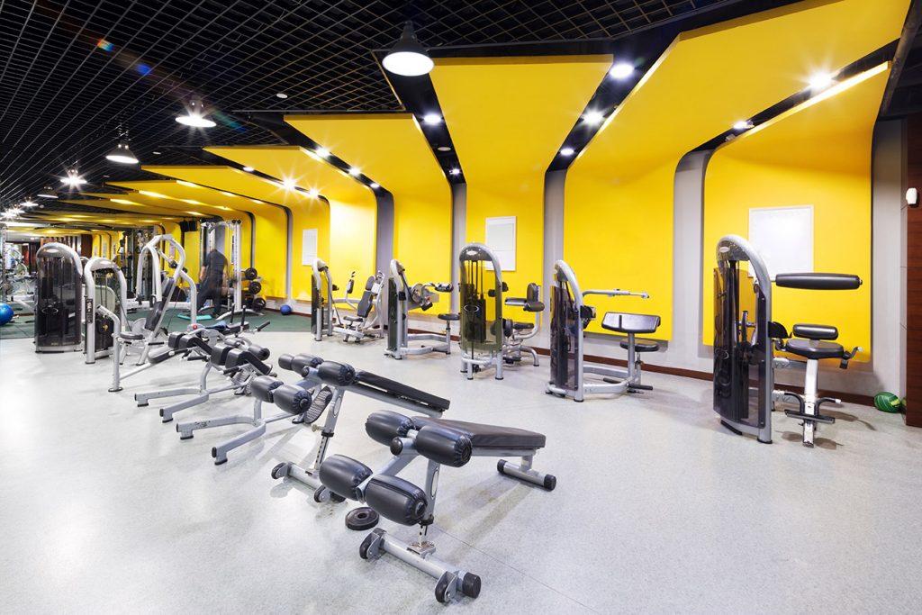 Indoor lighting for recreation centers