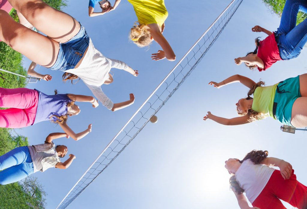 Volleyball Camp at Sports Facilities Management