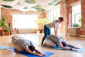 Sports Facility Management on yoga qualifications.