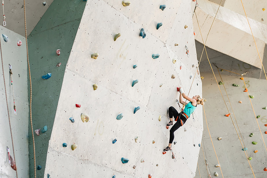 Sports Complex with rock climbing features