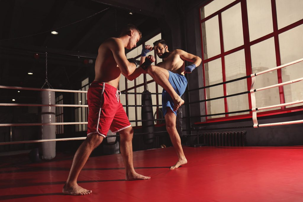 Recreation centers and injuries in combat sports.