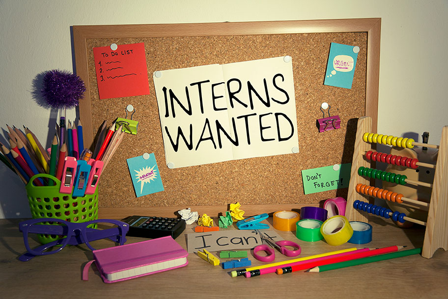 Facility management facts about internships.