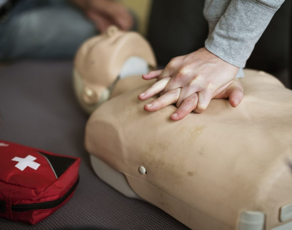 Facility management and first aid training.