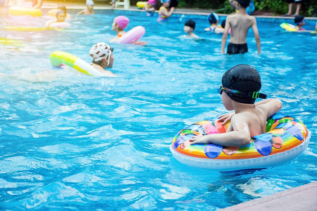 Facility planning for community swimming pools