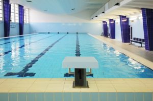 Indoor sports facilities swimming pool