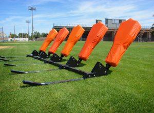 Football blocking sleds