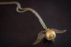 Golden snitch from quidditch