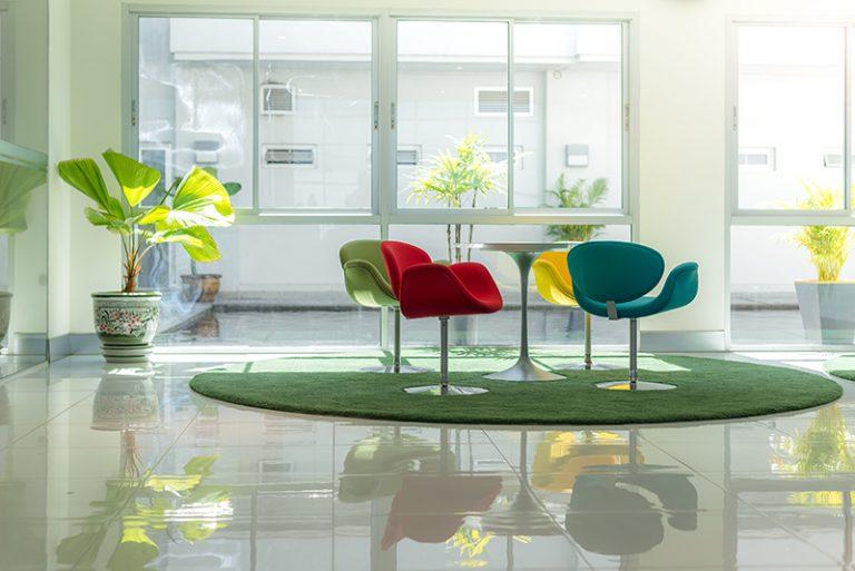 Modern Indoor Reception Area