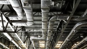Large HVAC system.
