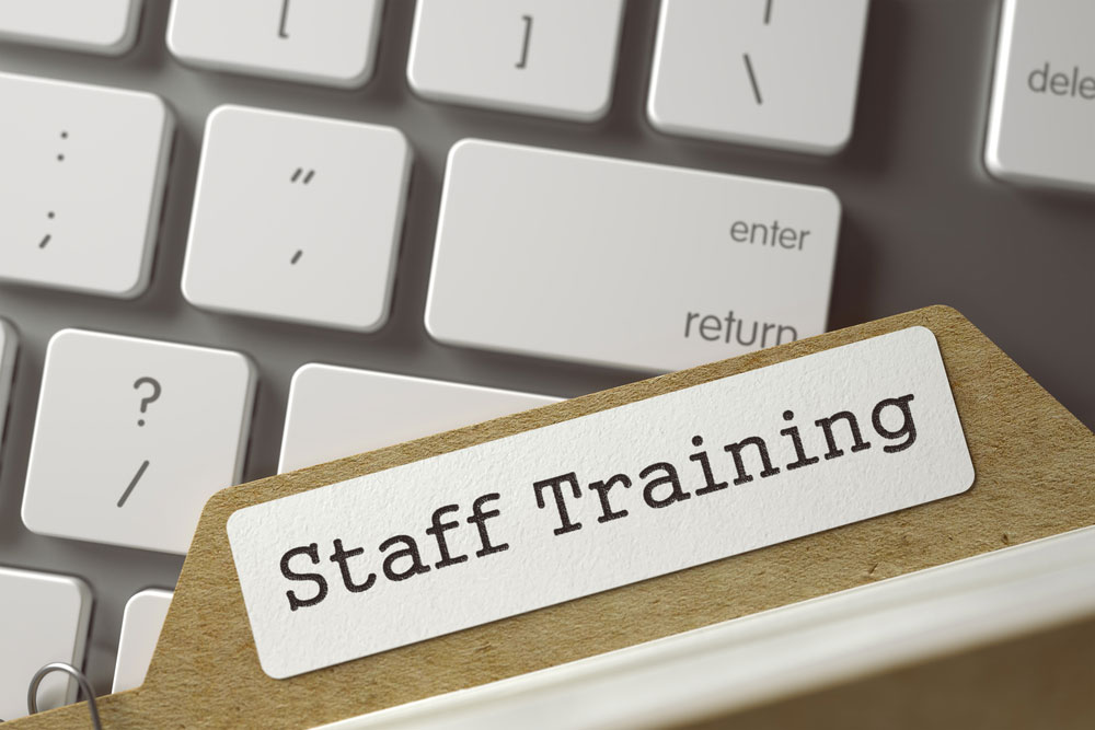 Staff in Training Session